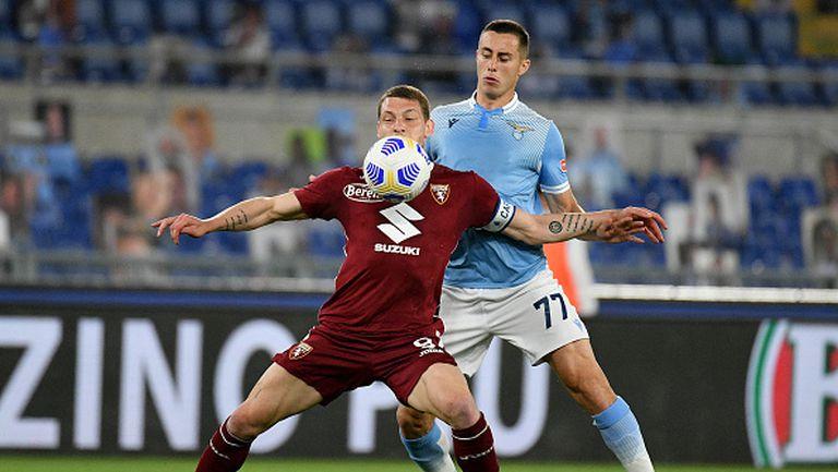 Торино измъкна драматична точка при визитата си на Лацио и оцеля в Серия А