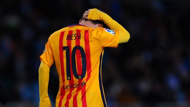 Изпуска ли Барселона титлата? (видео + галерия)