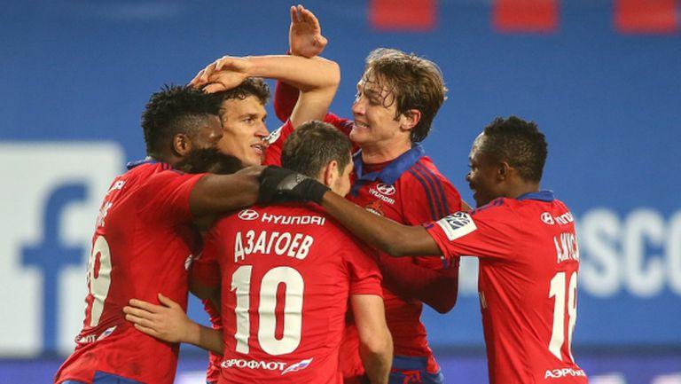 ЦСКА (М) оформи големия финал за Купата на Русия (видео)