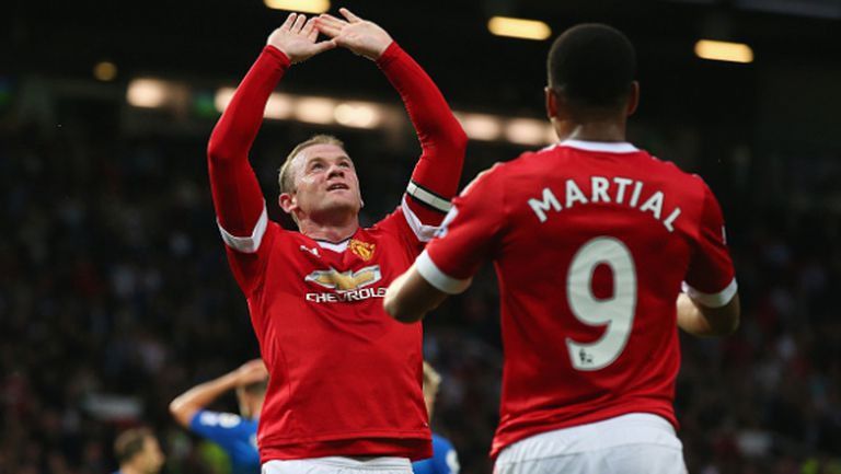Манчестър Юнайтед закри сезона с победа в исторически мач за Рууни (видео)