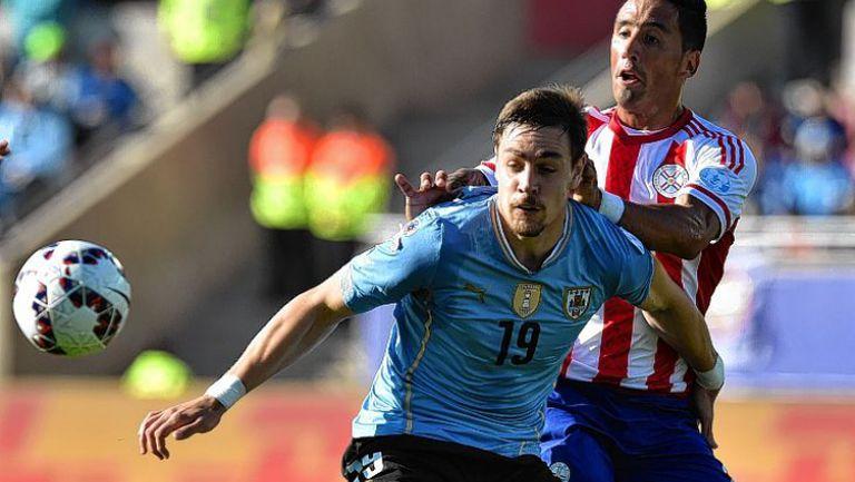 Уругвай - Парагвай 1:1