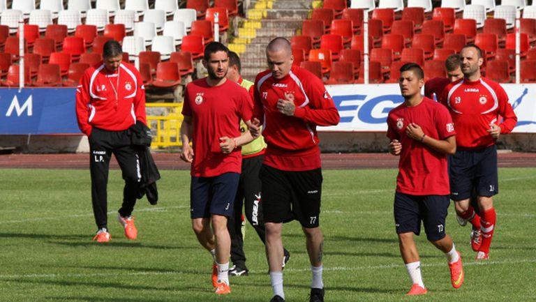 ЦСКА започва подготовка на 14 юни