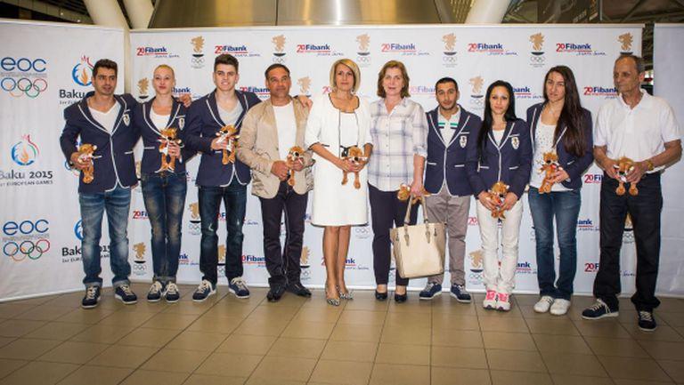Fibank изпрати спортистите за Баку с лъвче талисман (ВИДЕО + ГАЛЕРИЯ)