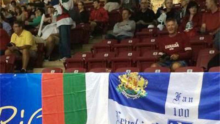 БГ агитка вика за националите по волейбол на остров Принц Едуард