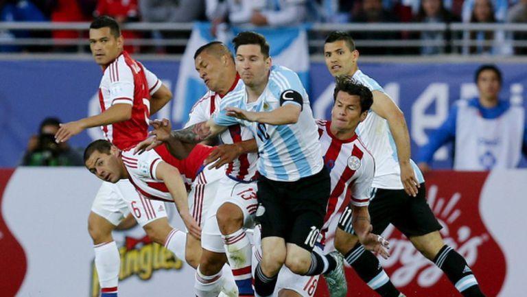 Парагвай стигна до 2:2 срещу Аржентина