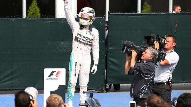 Менсъл: В Мерцедес Хамилтън може да подобри рекорда на Шумахер