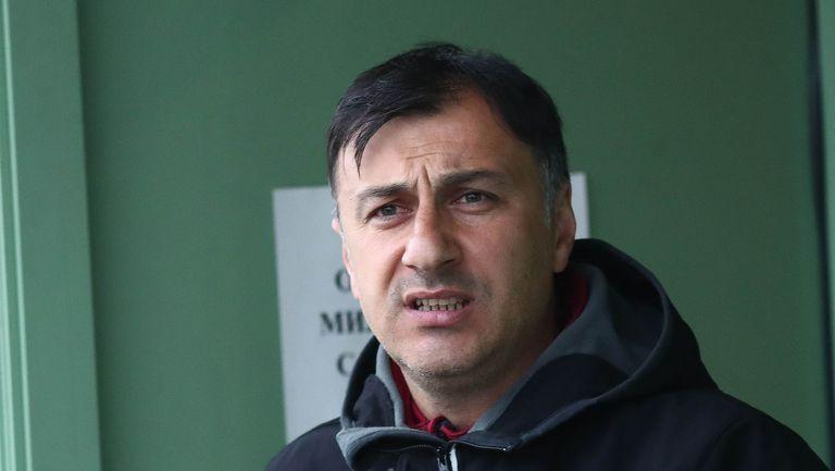 Христо Арангелов: Правилният път е в налагането на младите момчета в отбора
