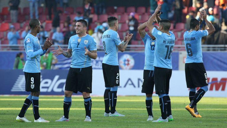 Уругвай и Парагвай продължават на 1/4-финал