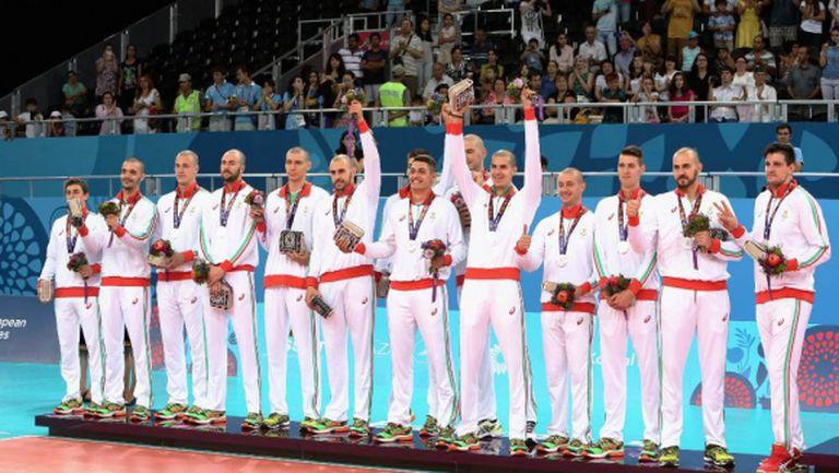 България остана със среброто в Баку (ВИДЕО + ГАЛЕРИИ)