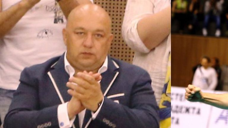 Министър Красен Кралев и Пламен Константинов изгледаха заедно финала на Игрите в Баку
