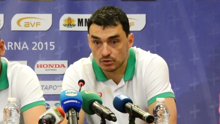 Владо Николов: Чакат ни тежки мачове, но се надявам да спечелим два пъти срещу Аржентина (ВИДЕО)