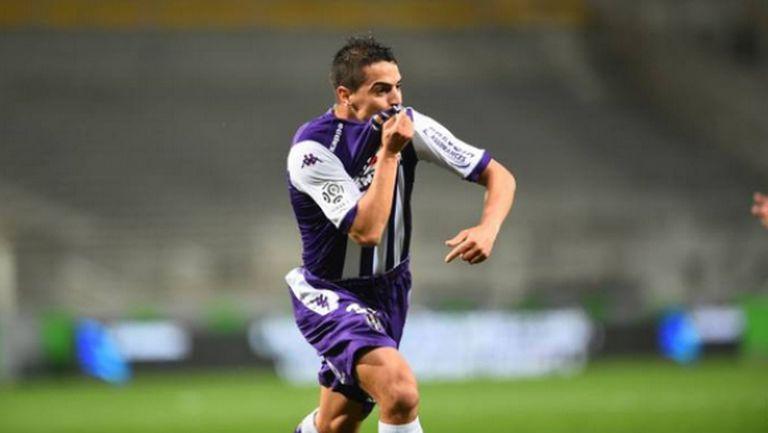 Тулуза удари Сент Етиен с два гола от фаул