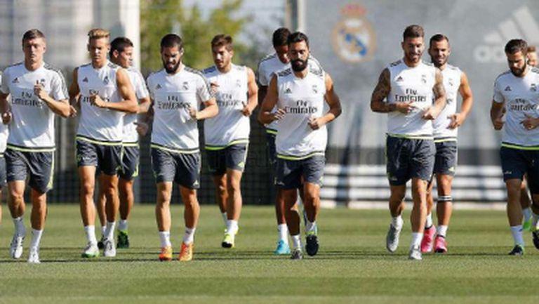 Ковачич в групата на Реал Мадрид, извън нея останаха Ияра и Черишев
