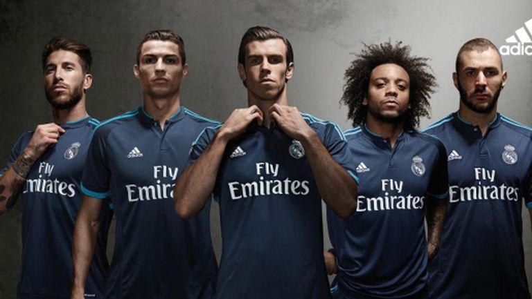 Ето го третия екип на Реал Мадрид (видео + галерия)