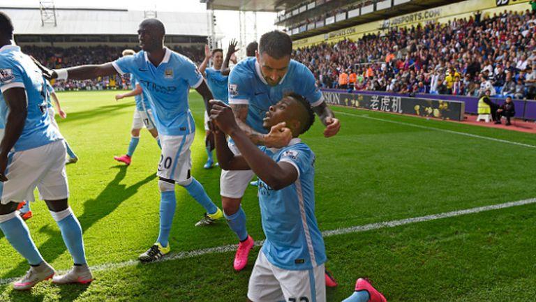 Серията продължава! Драматична победа за Манчестър Сити в дебюта на Де Бройне (видео)