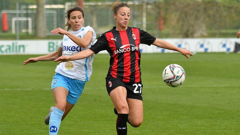 След 2 месеца: Евдокия Попадинова се завърна на терена срещу Милан