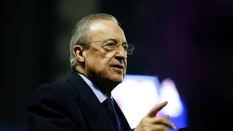 Флорентино Перес: Целта ни е да спасим футбола