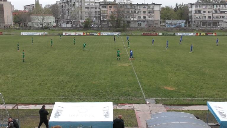 (U17) Спартак (Пловдив) - Лудогорец 0:2