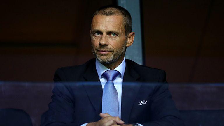 Чеферин към английските клубове: Господа не е късно да промените решението си, направете го заради дома на футбола
