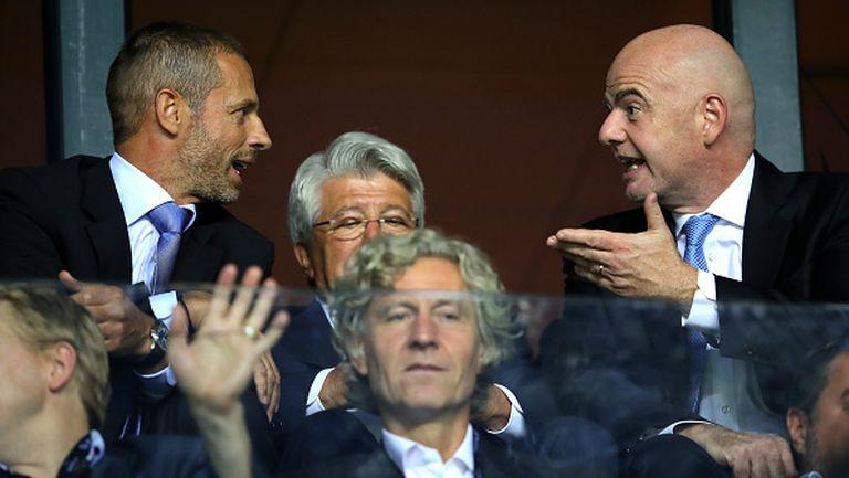 ФИФА подкрепи УЕФА и се обяви срещу създаването на Суперлига