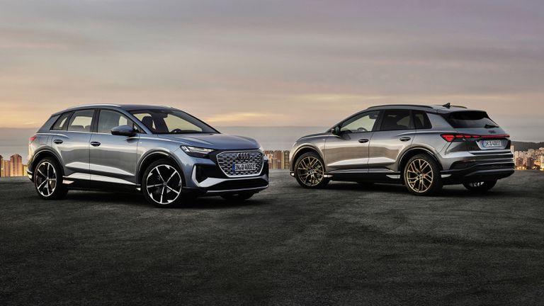 Audi представи новите Q4 e-tron и Q4 Sportback e-tron