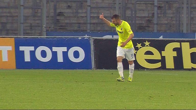 Даниел Младенов с втория гол за Етър завърши головото шоу в Кърджали