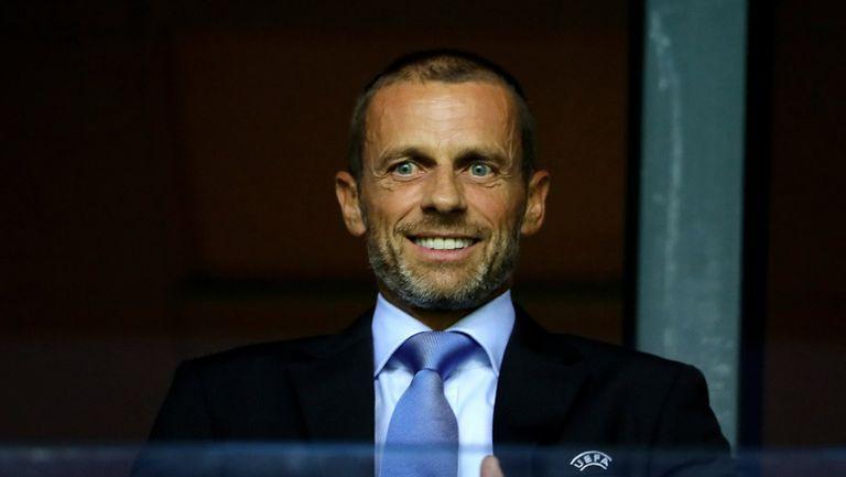 Чеферин приветства Сити обратно в европейското футболно семейство
