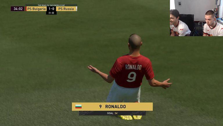 FIFAe Friendly: България - Русия 4:0