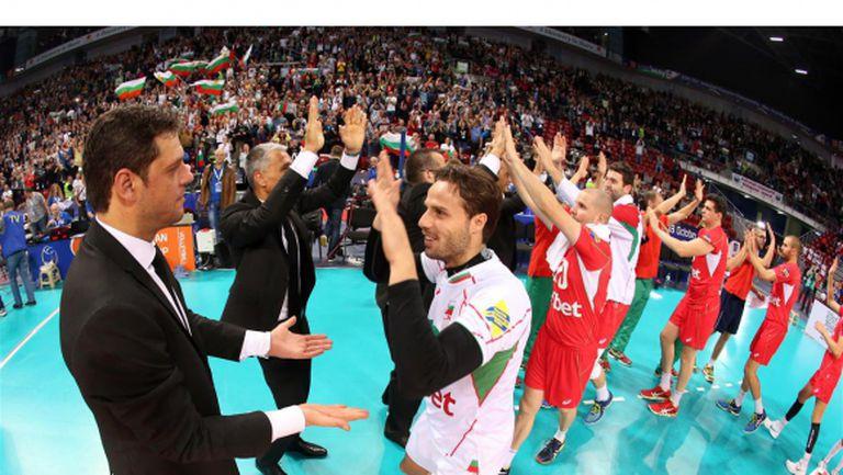 Добра новина за България! Теди Салпаров с шанс да играе в 1/4-финала