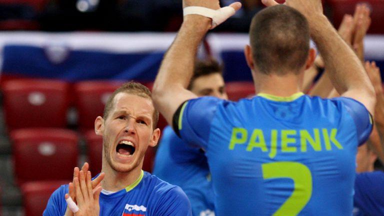 Словения отстрани Холандия на Евро 2015 и се изправи срещу световния шампион Полша (ГАЛЕРИЯ)