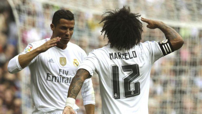 Реал Мадрид с рутинна победа, Кристиано с ново велико постижение (видео + галерия)