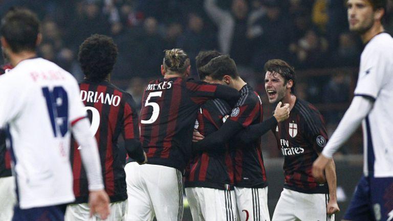 Милан се измъкна в продълженията