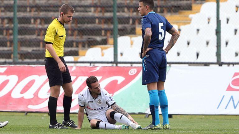 Диего аут за Славия до края на 2015 година