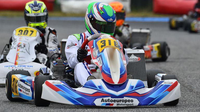 Българин с първи подиум в италианския шампионат по картинг