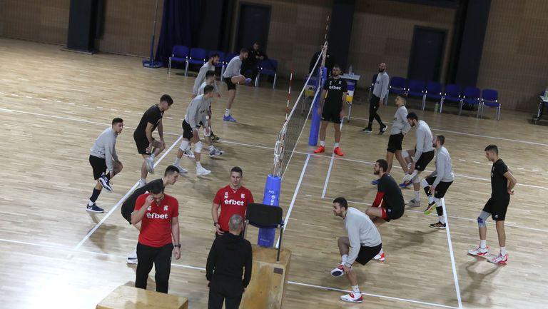 Националният отбор по волейбол започва подготовка за Лигата на нациите