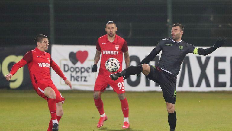Царско село надигра Берое с 1:0 в Стара Загора и предизвика уволнението на Херо