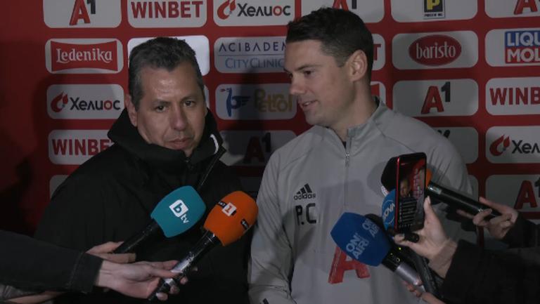 Караско: Старши треньорът е един и той е Любослав Пенев