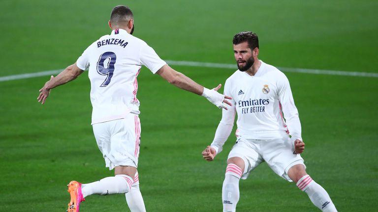 Бензема се развихри, а Реал Мадрид стъпи на върха (видео)