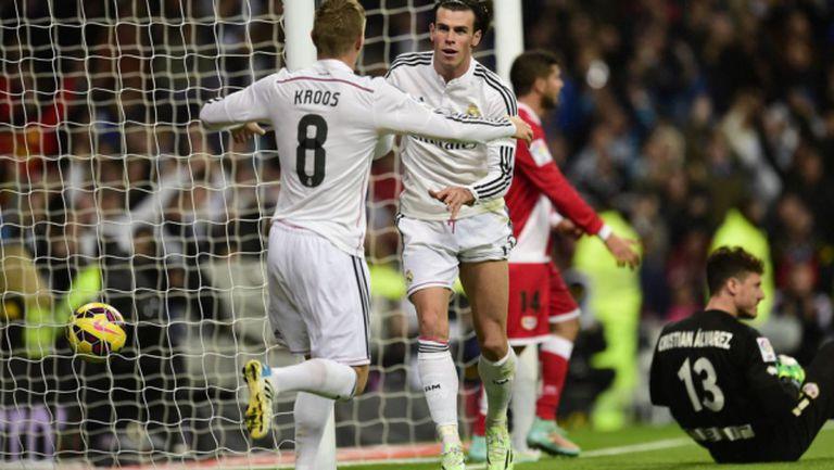 Реал (Мадрид) - Райо Валекано 5:1