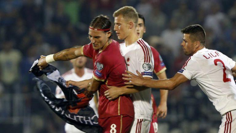 УЕФА отхвърли жалбите на Сърбия и Албания