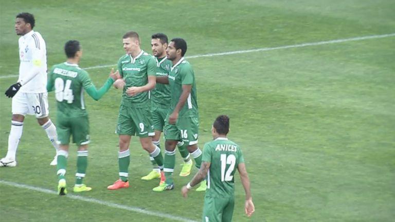 Лудогорец - Динамо (Киев) 2:1