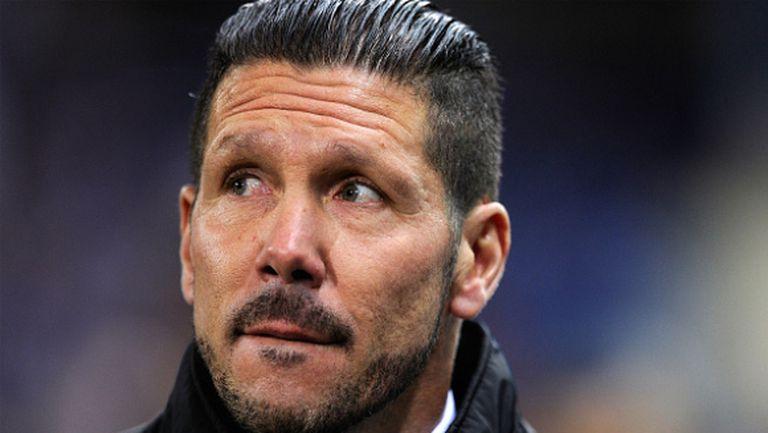 Диего Симеоне очаква тежък мач срещу Ювентус