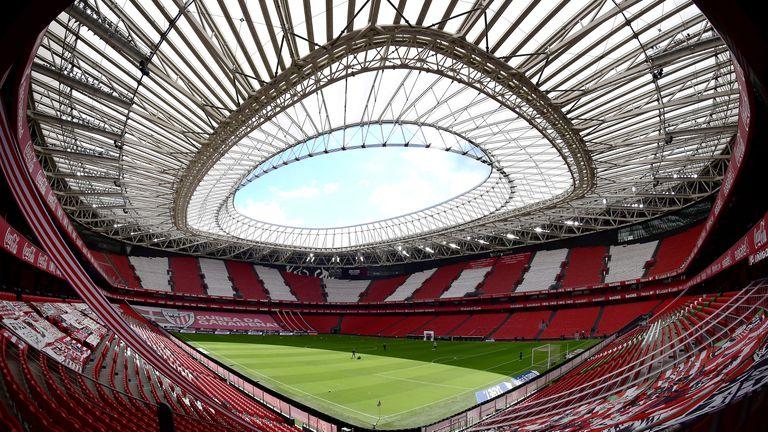 Извадиха Билбао от списъка за Евро 2020