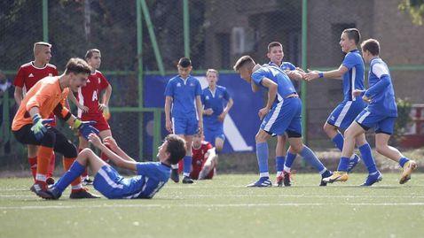 Левски U15 се наложи над ЦСКА-София U15 и спечели Елитната група
