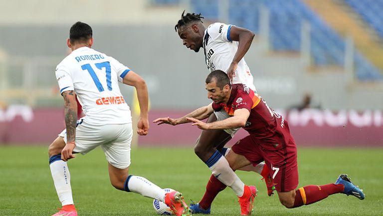 Рома не позволи на Аталанта да се настани на второто място