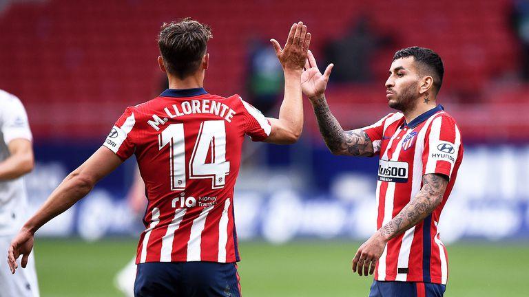 Нов домакински успех върна Атлетико на върха (видео)