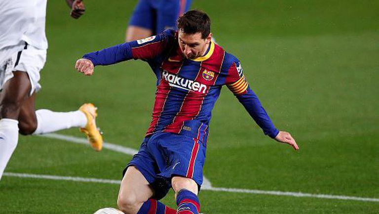 Барселона - Хетафе 5:2, два гола на Меси, два автогола и две дузпи