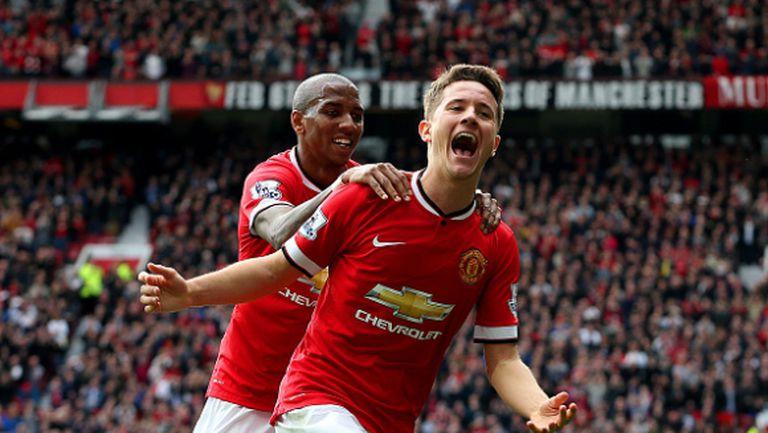 Ман Юнайтед продължава да крачи уверено към ШЛ (видео)