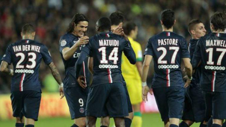 Пари Сен Жермен се върна на върха в Лига 1