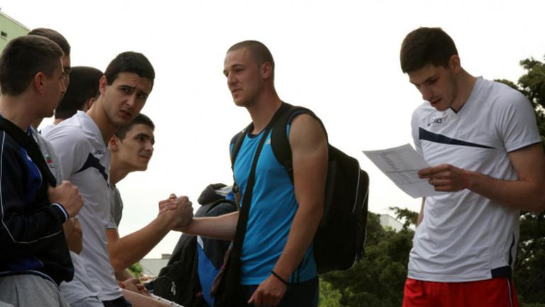 Разширеният състав на мъжкия национален отбор по волейбол, който започна подготовка